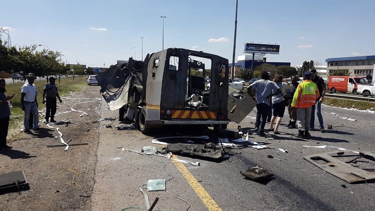 Luthuli House 'employee' arrested in cash-in transit heist blitz
