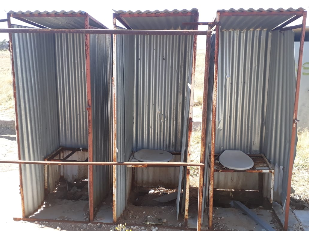 Failing ANC government's pit toilet plan means some children will still have unsafe sanitation for 12 years