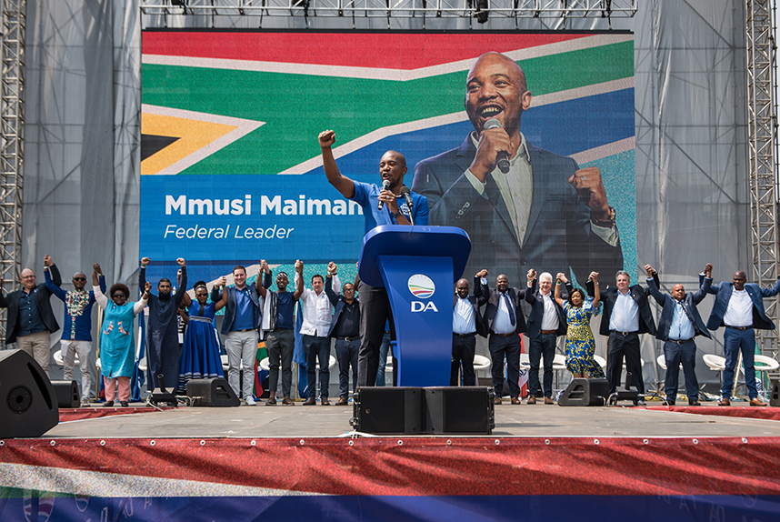 SA has one choice: Coalition of Corruption or the DA's Real Change