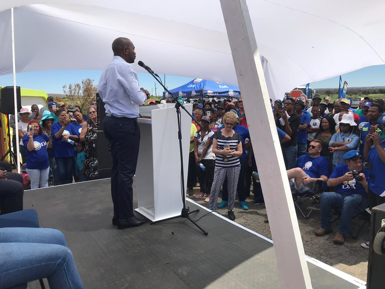 North West ready for  real change only the DA can bring