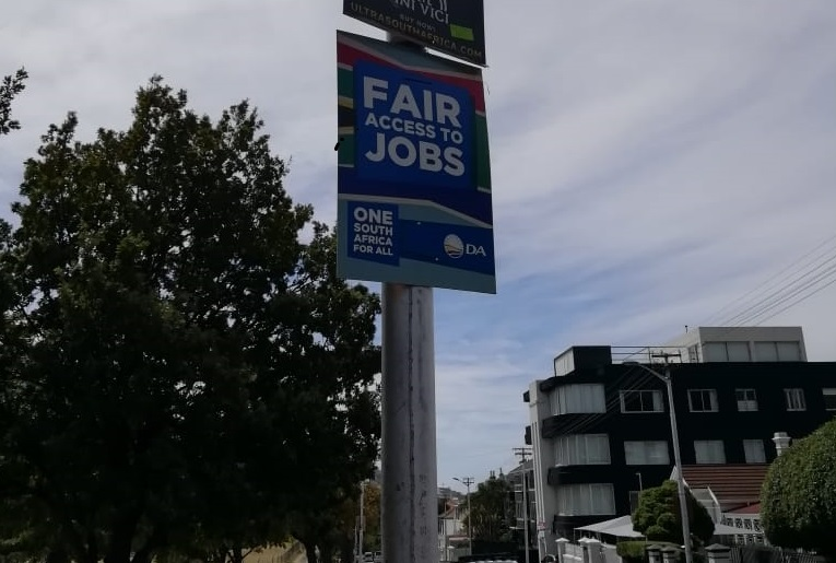 DA Election Posters are largest operation in Party's history