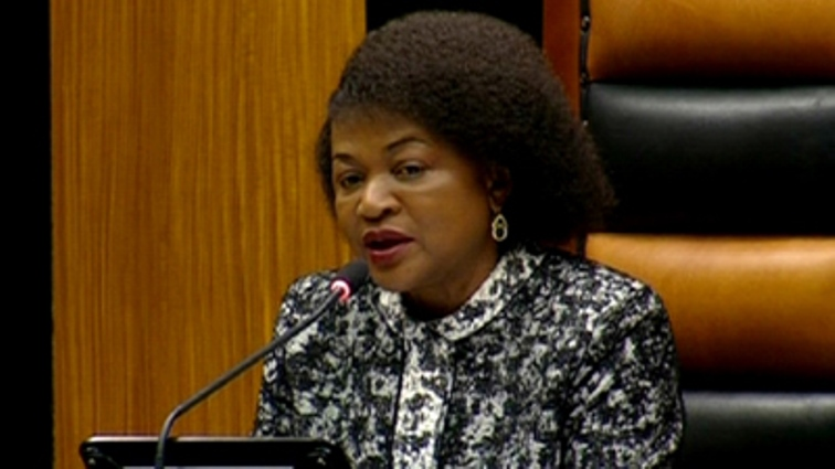 Speaker Baleka Mbete continues defence of ANC-orchestrated violent protests