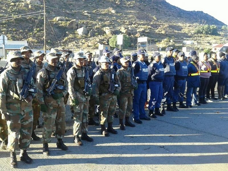 DA welcomes deployment of army to the Western Cape