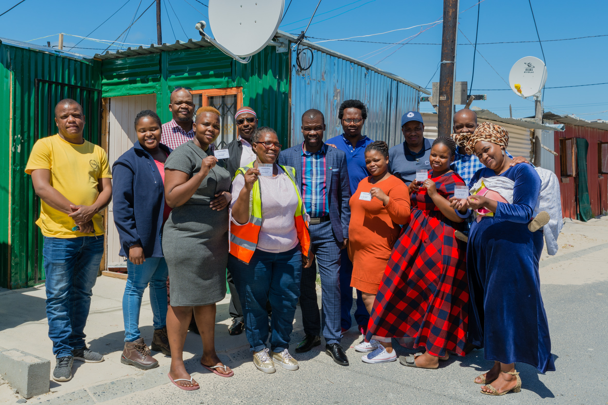 City lights up Esantini informal settlement in Mfuleni