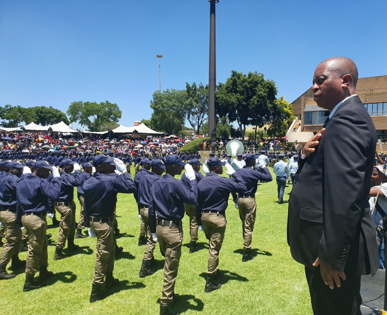 1, 085 new JMPD recruits unveiled at ceremonial pass out parade