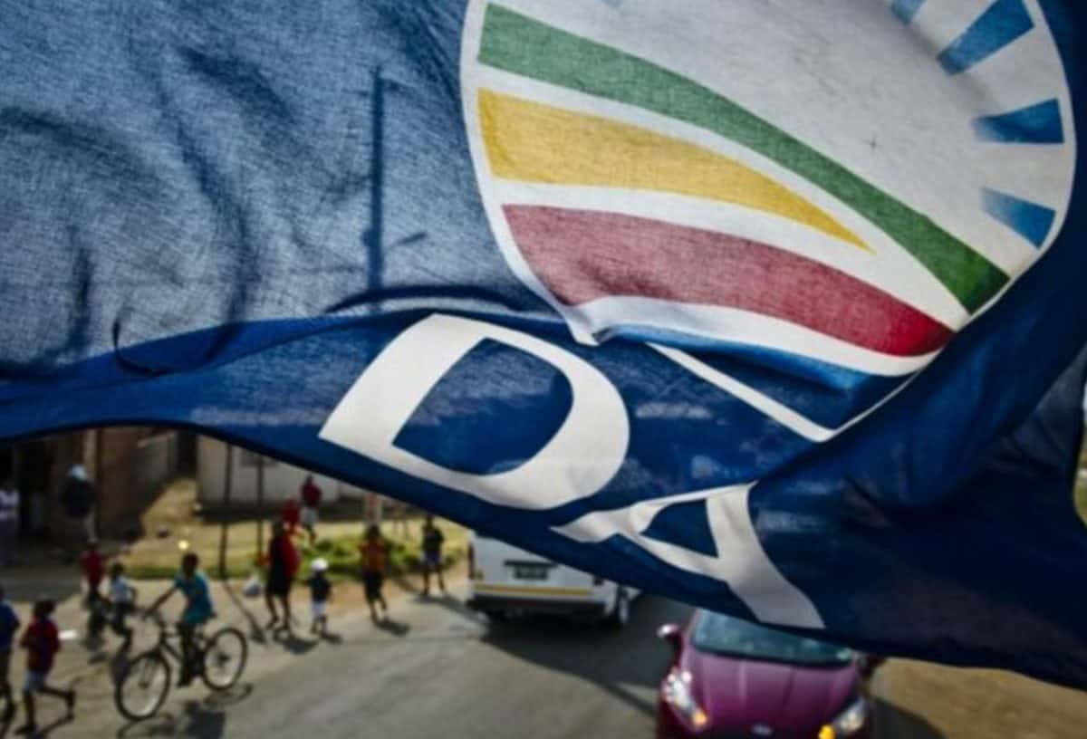 DA announces new Shadow Cabinet that will bring Real Hope and Real Change