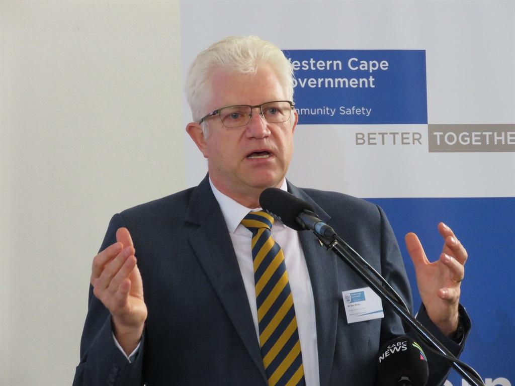 Special address delivered by Premier Alan Winde in the Western Cape Legislature.