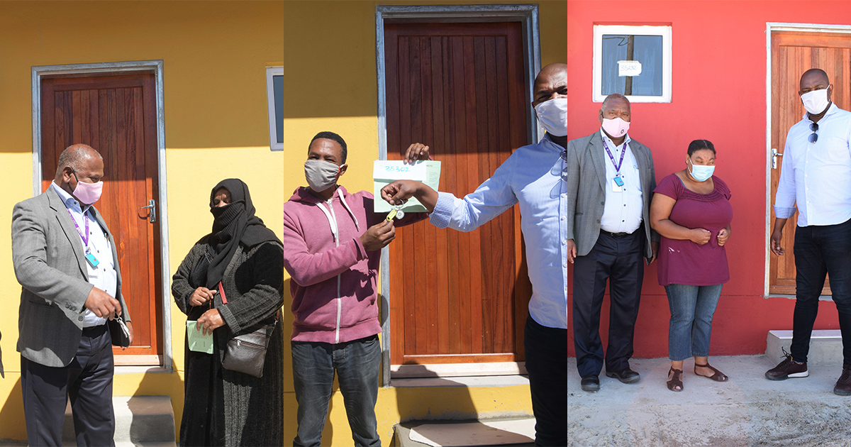 New homes for beneficiaries in City's R130 million The Hague project