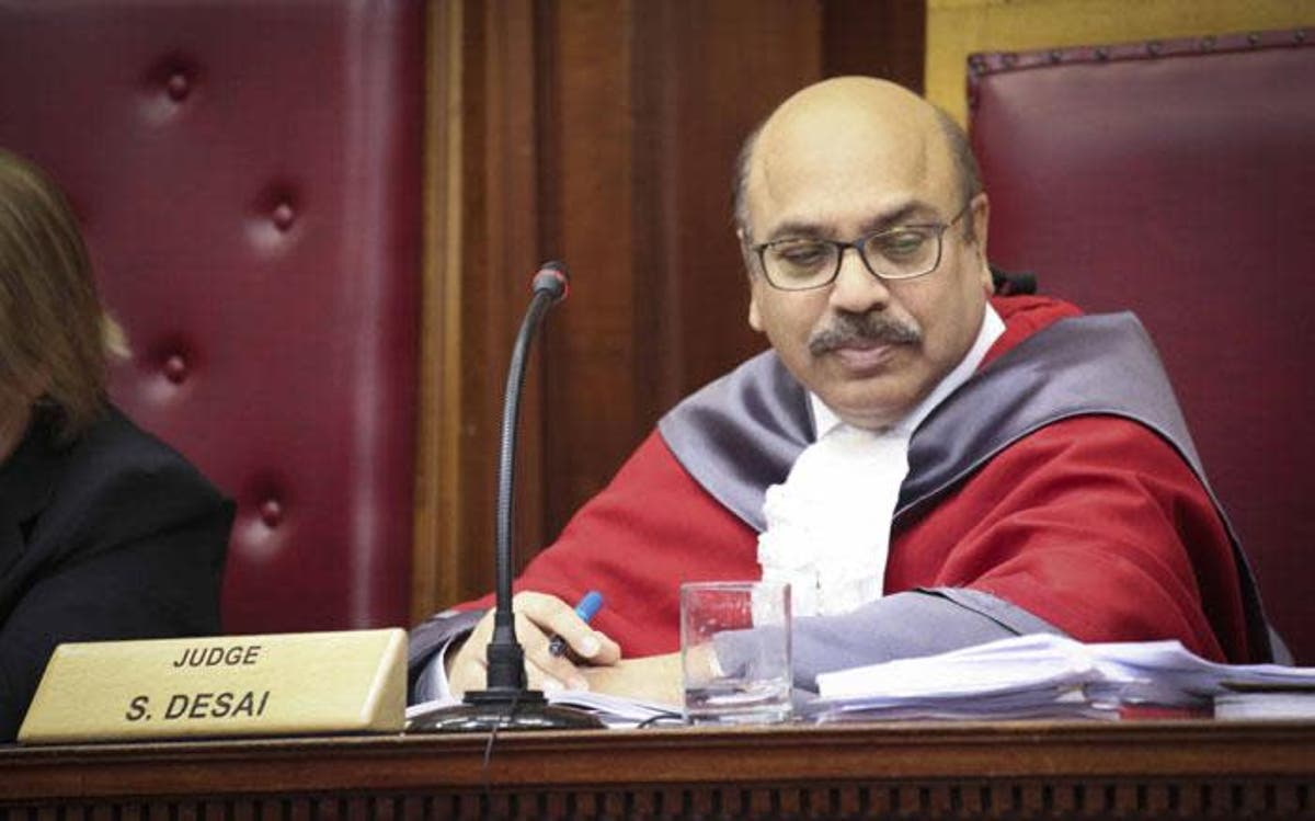 Is Judge Desai really independent?