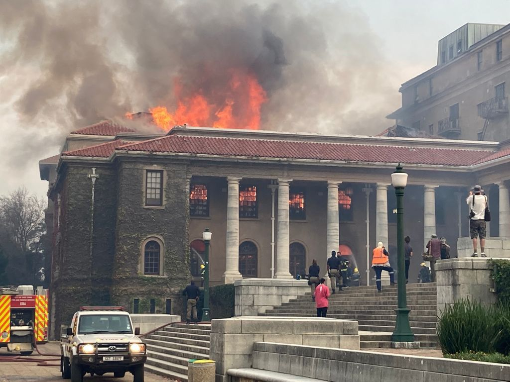 DA calls on Minister Nzimande to request disaster funding from Treasury to aid UCT's recovery efforts