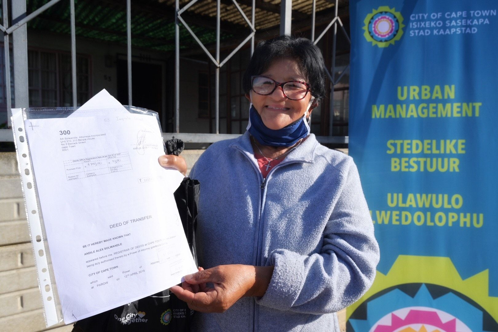 The City continues to deliver title deeds to beneficiaries