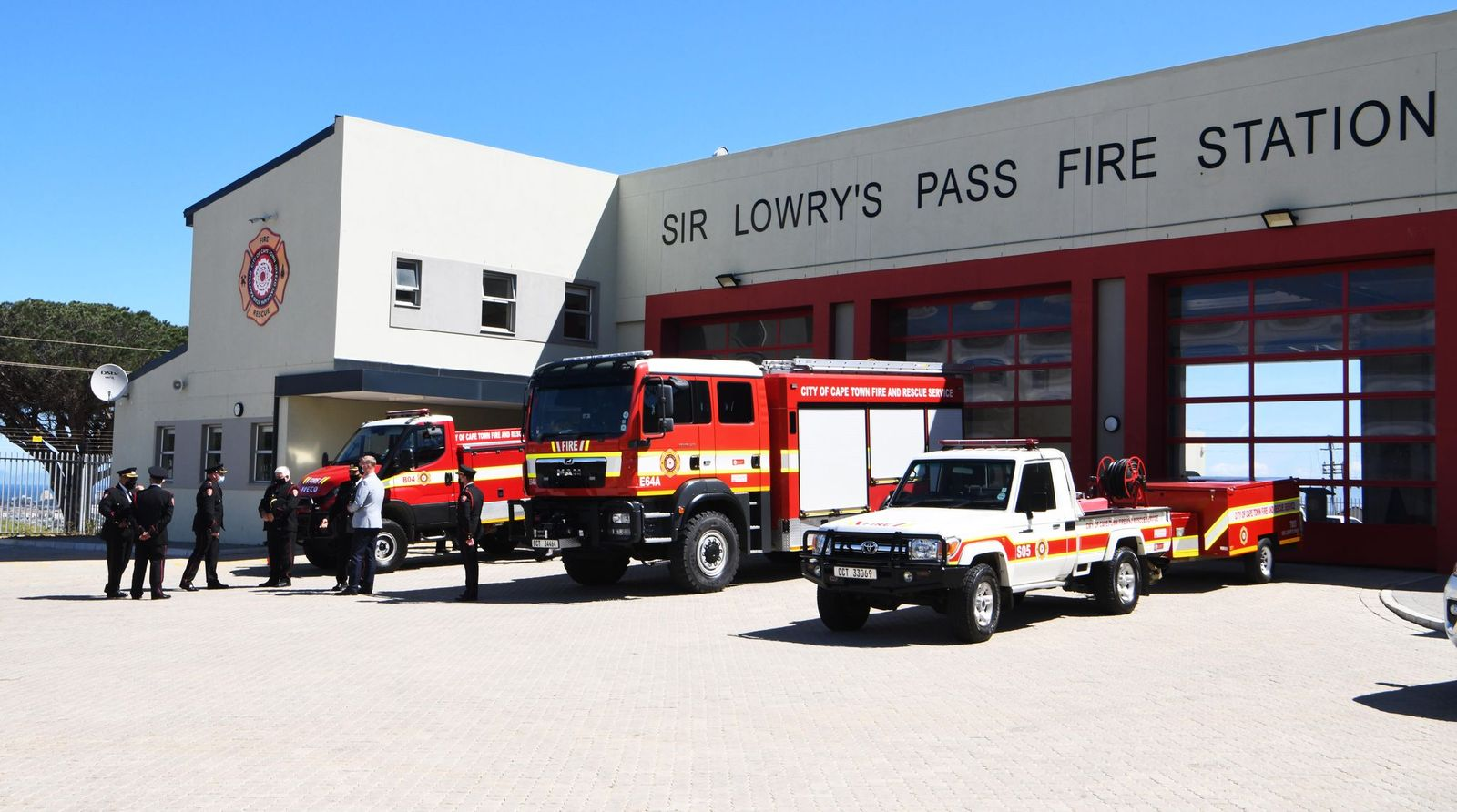 City officially opens Sir Lowry's Pass Fire Station