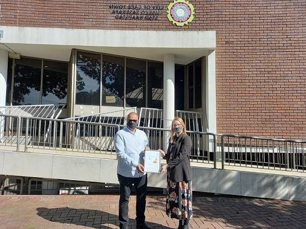 City shines as first municipality to receive certificates for energy smart buildings
