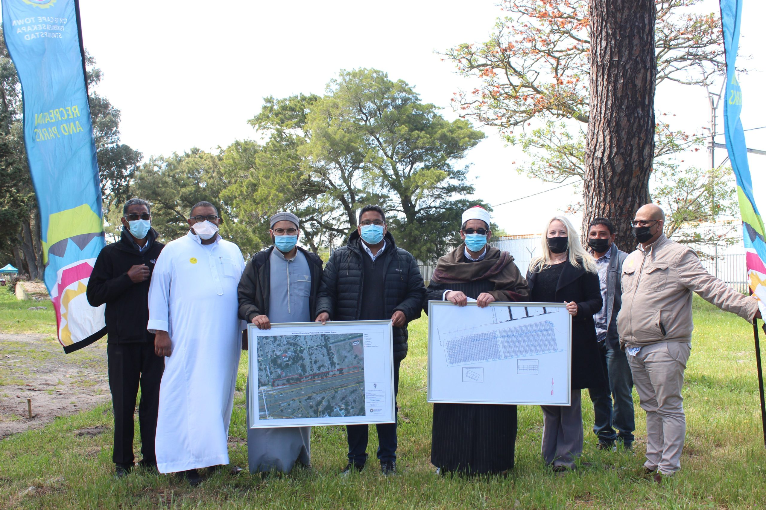 City expands Muslim burial section at Maitland Cemetery