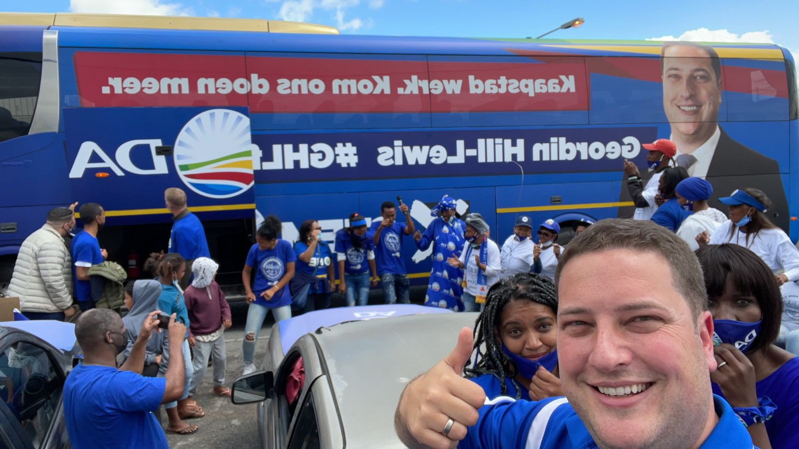 Get on the DA's battle bus to get more done in Cape Town!
