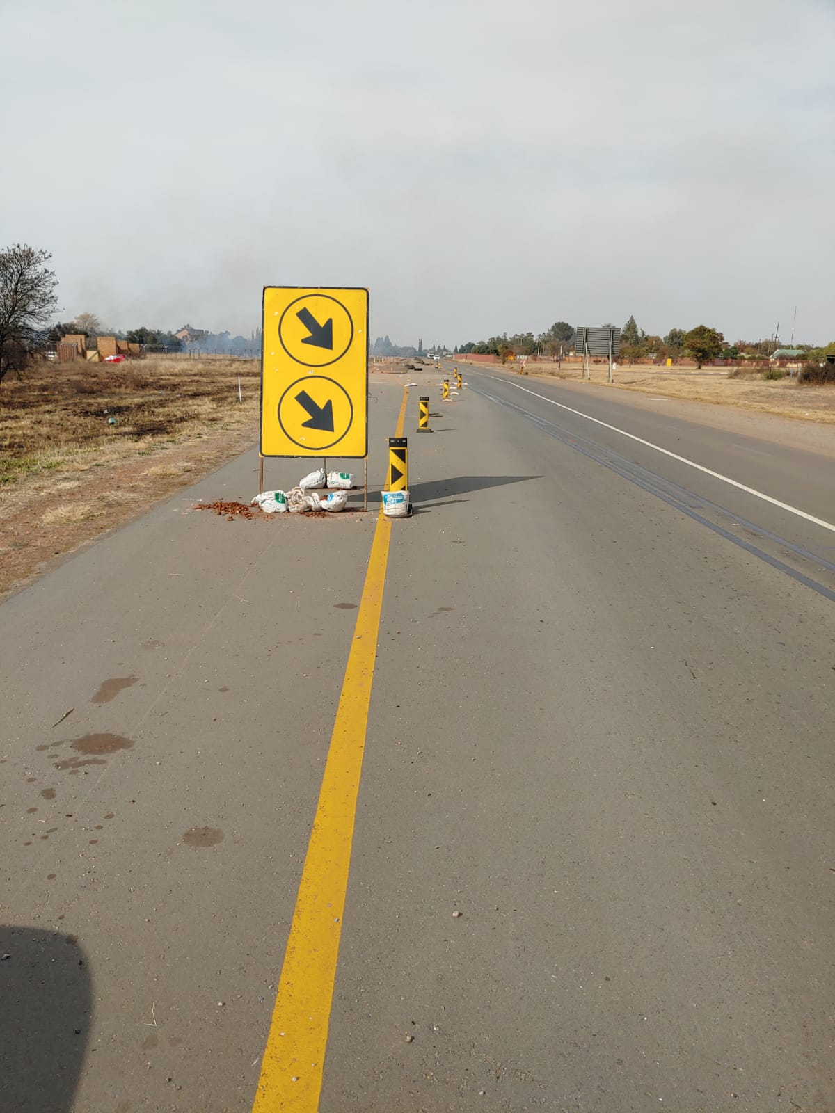 Contractors abandon Ventersdorp road construction leaving residents frustrated