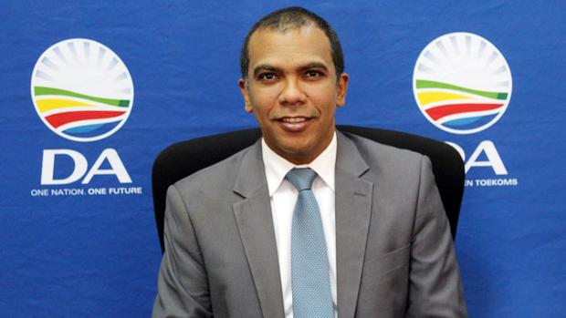 DA Gauteng wishes Heinrich Volmink well in his new endeavours