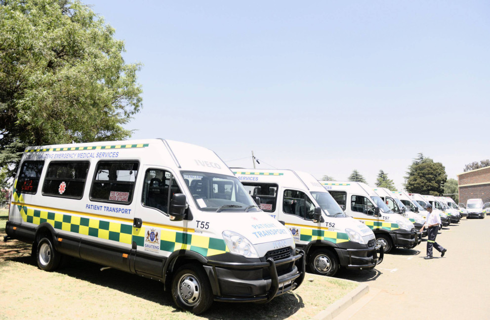 Ambulance crisis in Gauteng