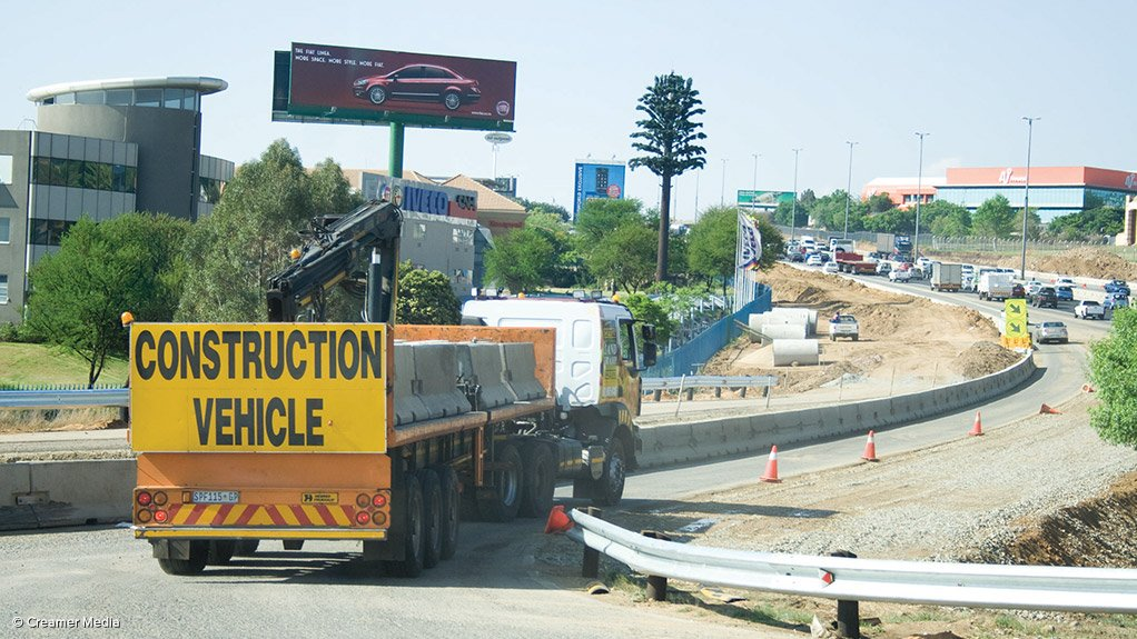 Yet another Gauteng road upgrade left unfinished due to contractor woes