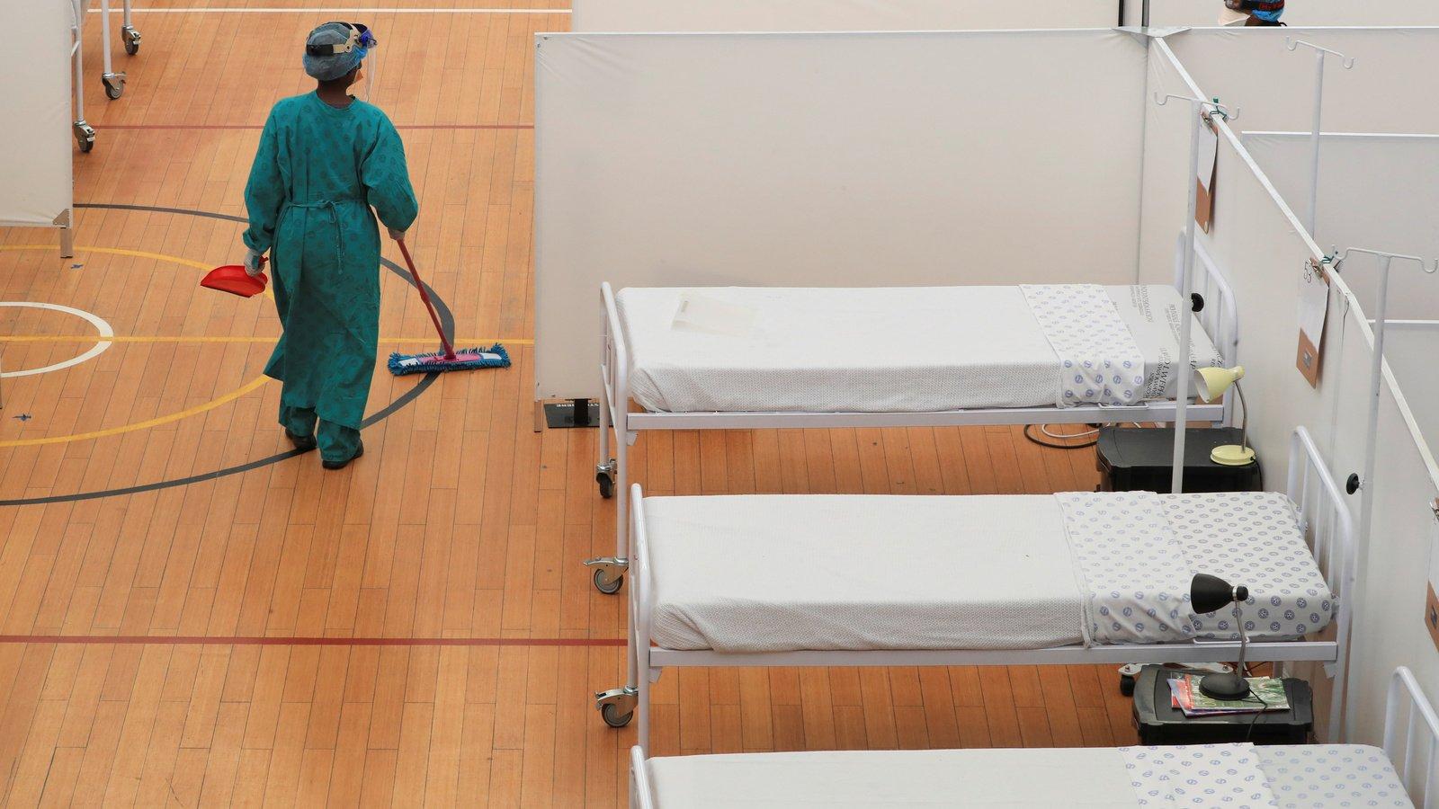 NASREC Field Hospital cost R150 000 per patient