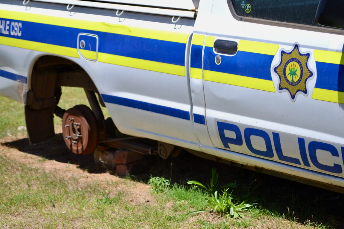 2170 out-of-service police vehicles in Gauteng
