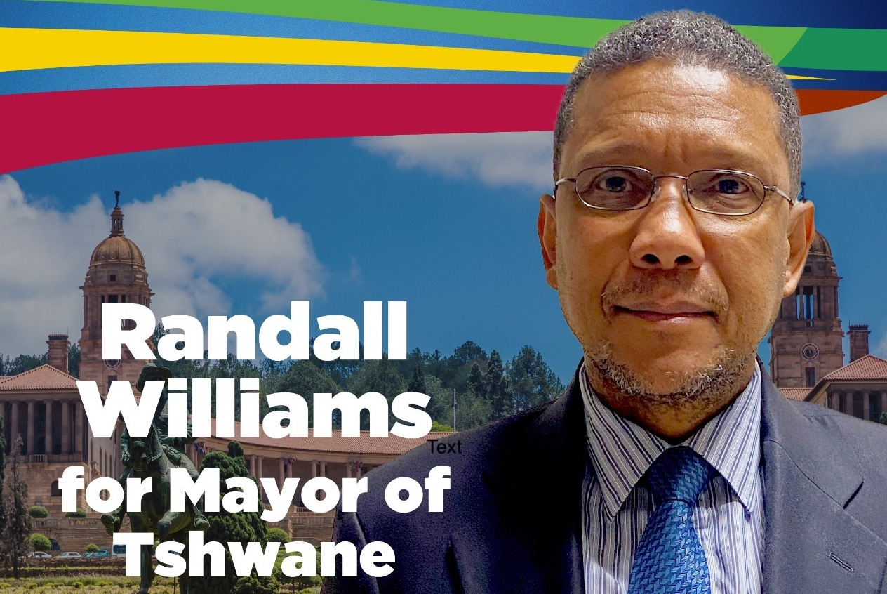 Randall Williams commits to getting things done in Tshwane