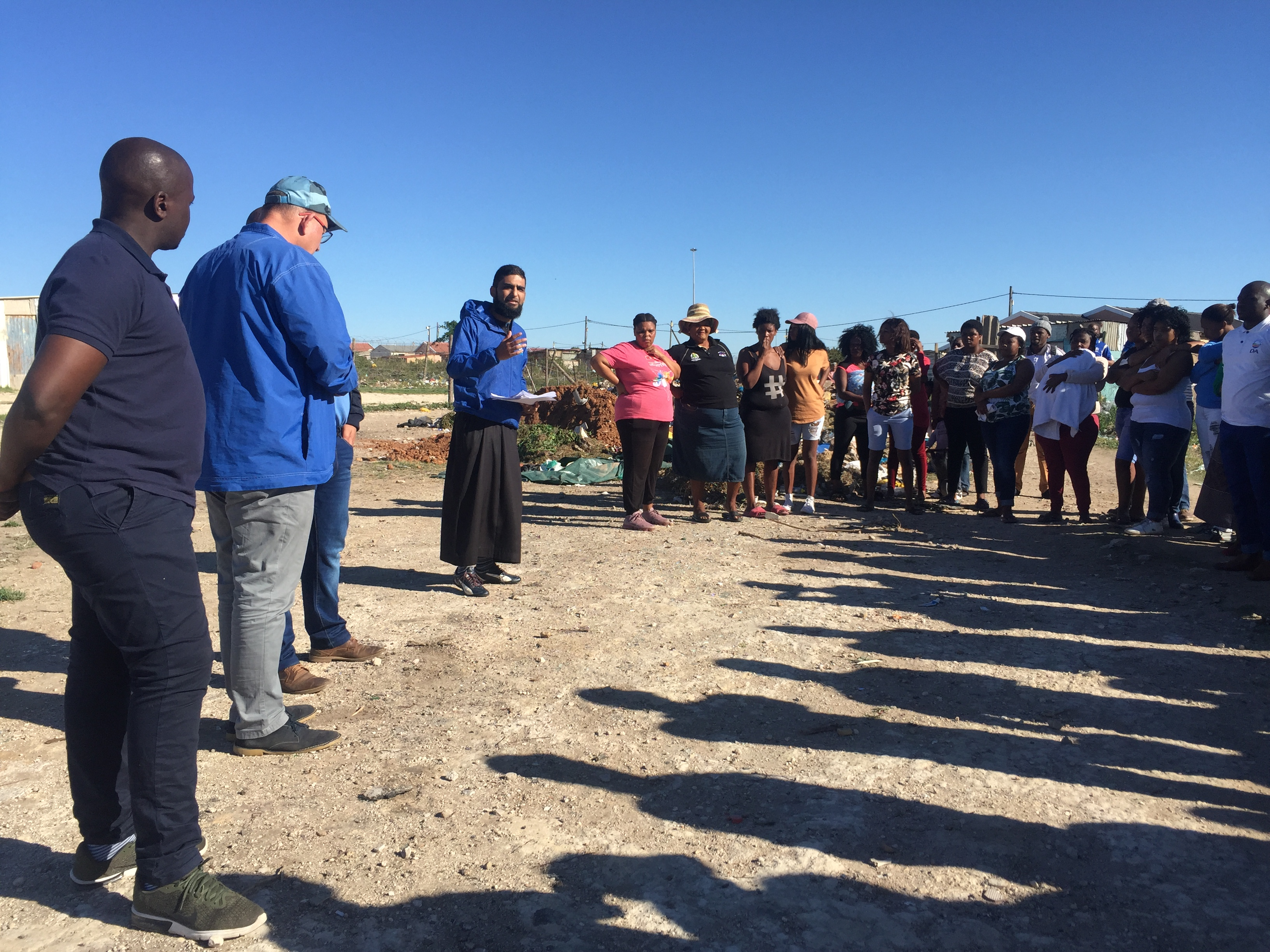 Dirty communities are robbing NMB residents of their dignity and health