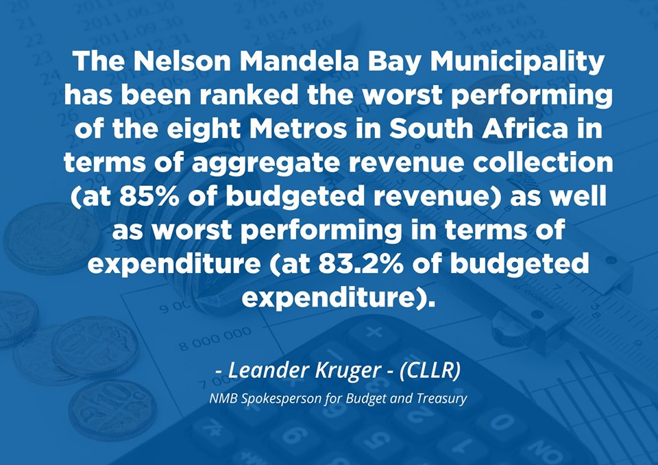 NMB worst Metro at revenue collection and expenditure