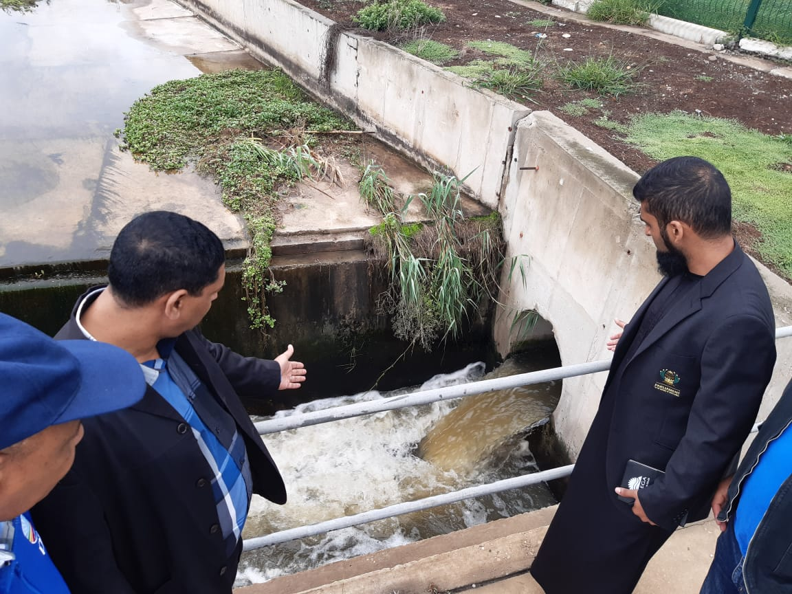 Sewage spilling into Swartkops River a serious health and environmental risk