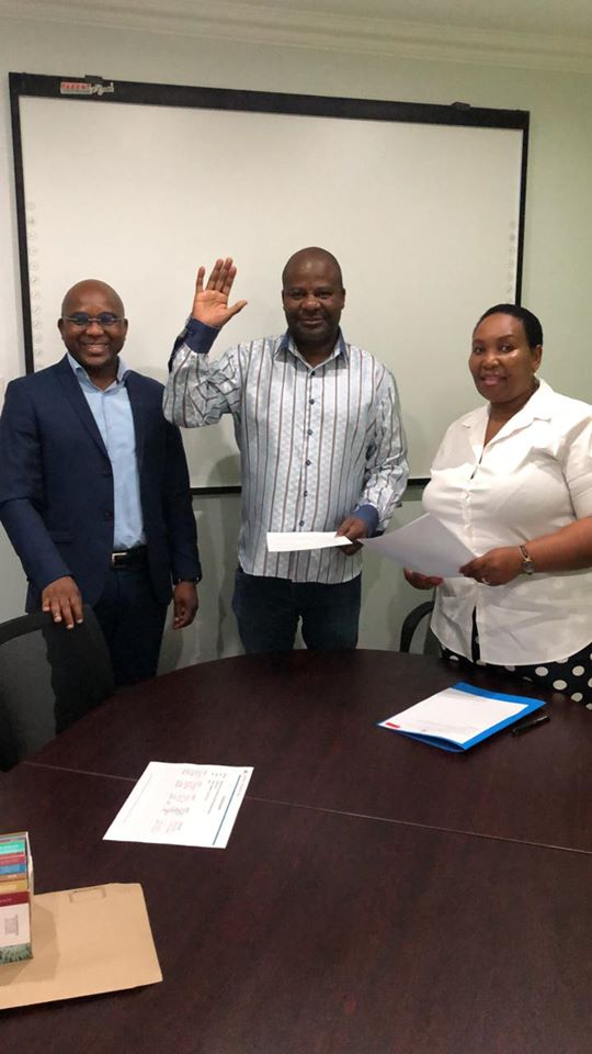 DA's Bhanga takes up position on NMB Council
