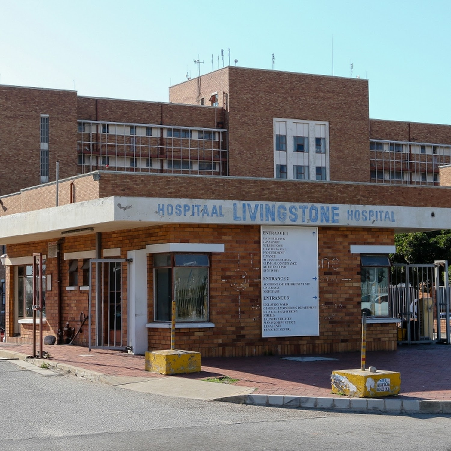 Dramatically reduced budget leaves Livingstone Hospital hamstrung