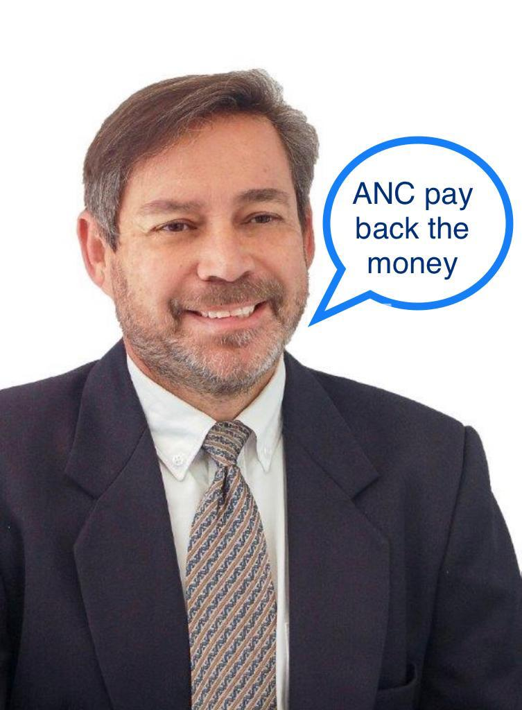 The ANC must disclose how much money they received from the controversial businessman Edwin Sodi and pay the money back to the Provincial Treasury