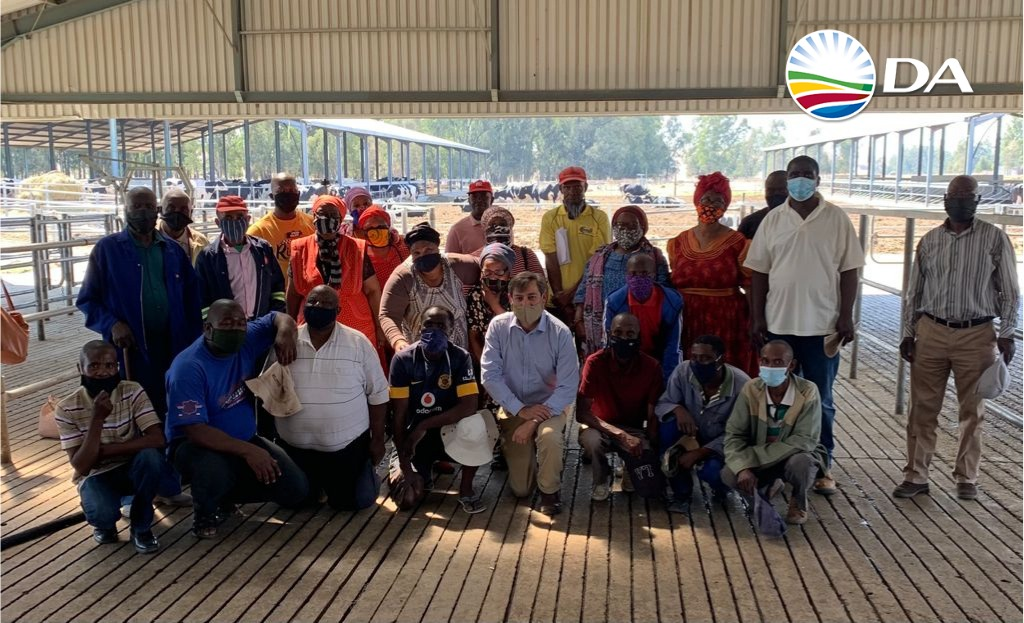 Vrede Dairy project beneficiaries closer to justice through DA legal interventions
