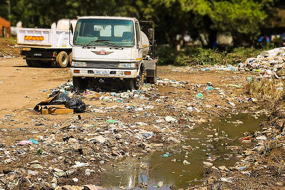 DA pressure leads to removal of waste in eStendeni