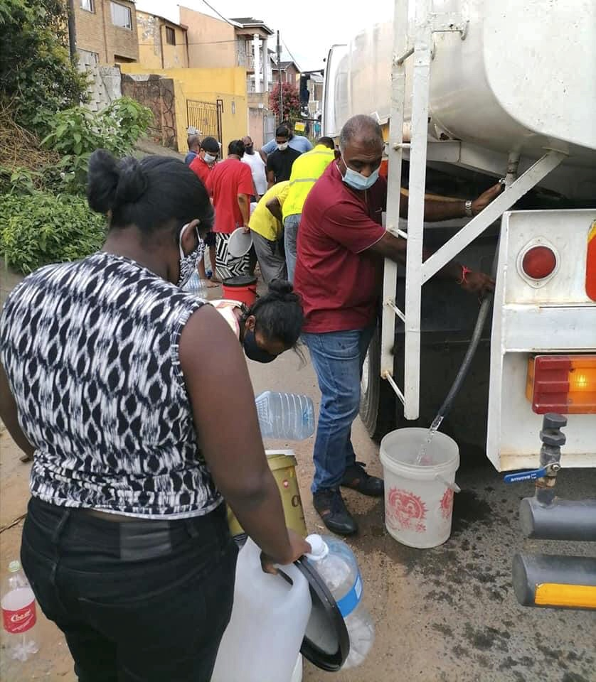 DA calls for heads to roll following water outages in parts of Durban