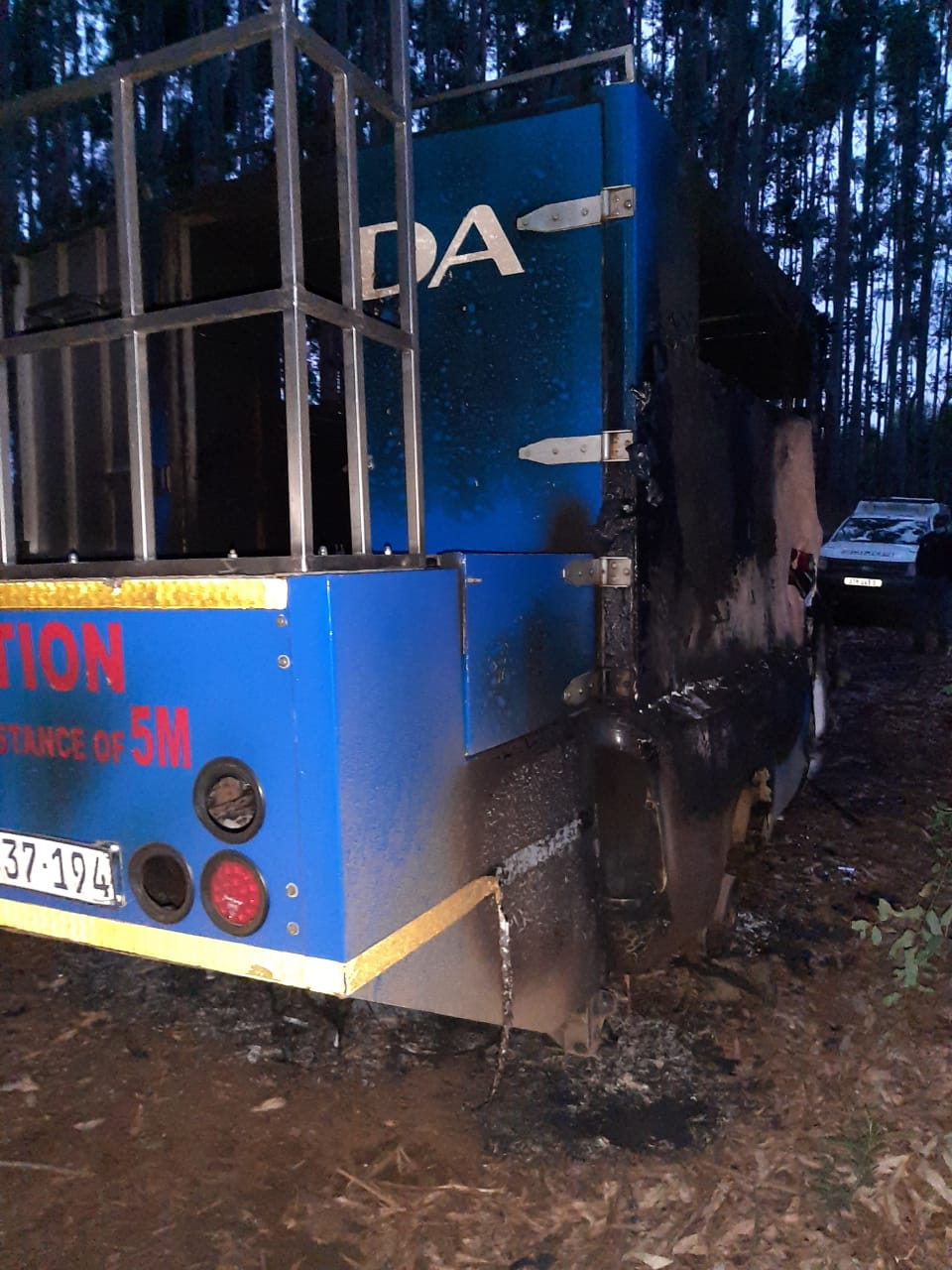 DA condemns another violent incident against staff members and destruction of property