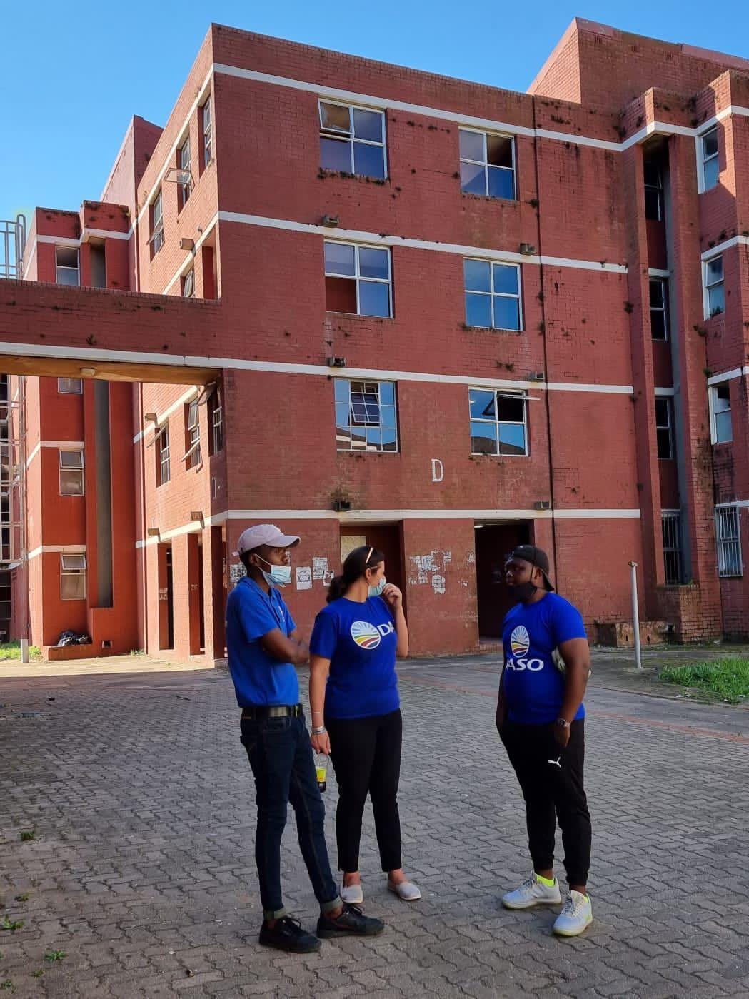 DASO KZN calls on Minister Blade Nzimande to urgently intervene in UniZulu's poor living conditions